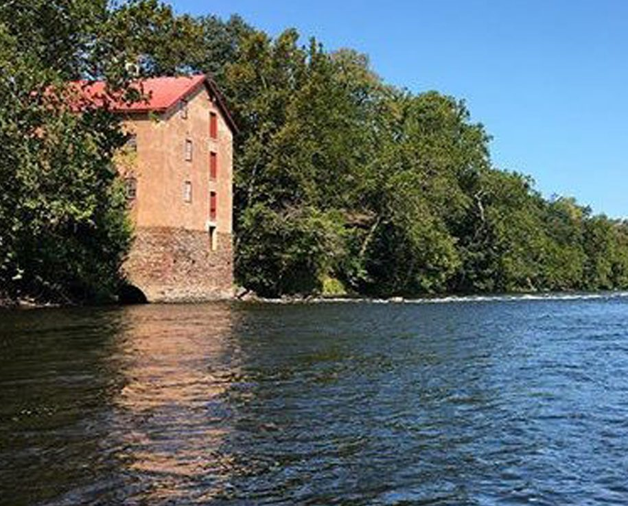 Stover Mill from the Delaware