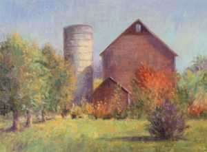 Barn Near the Harrow